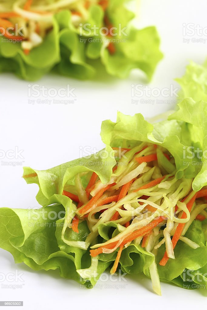 Coleslaw royalty-free stock photo