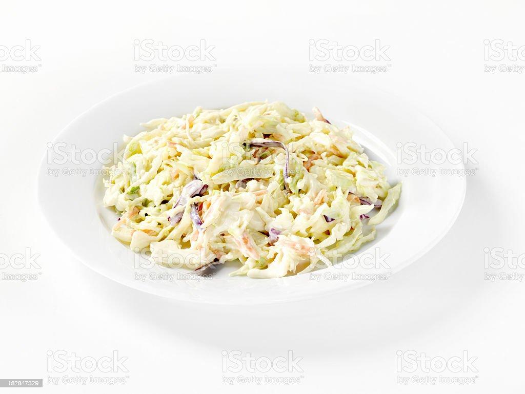 Coleslaw Salad royalty-free stock photo