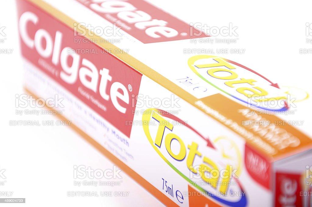 Colgate Total royalty-free stock photo