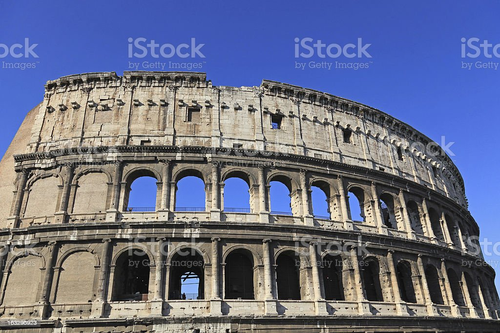 Coliseum in Rome royalty-free stock photo