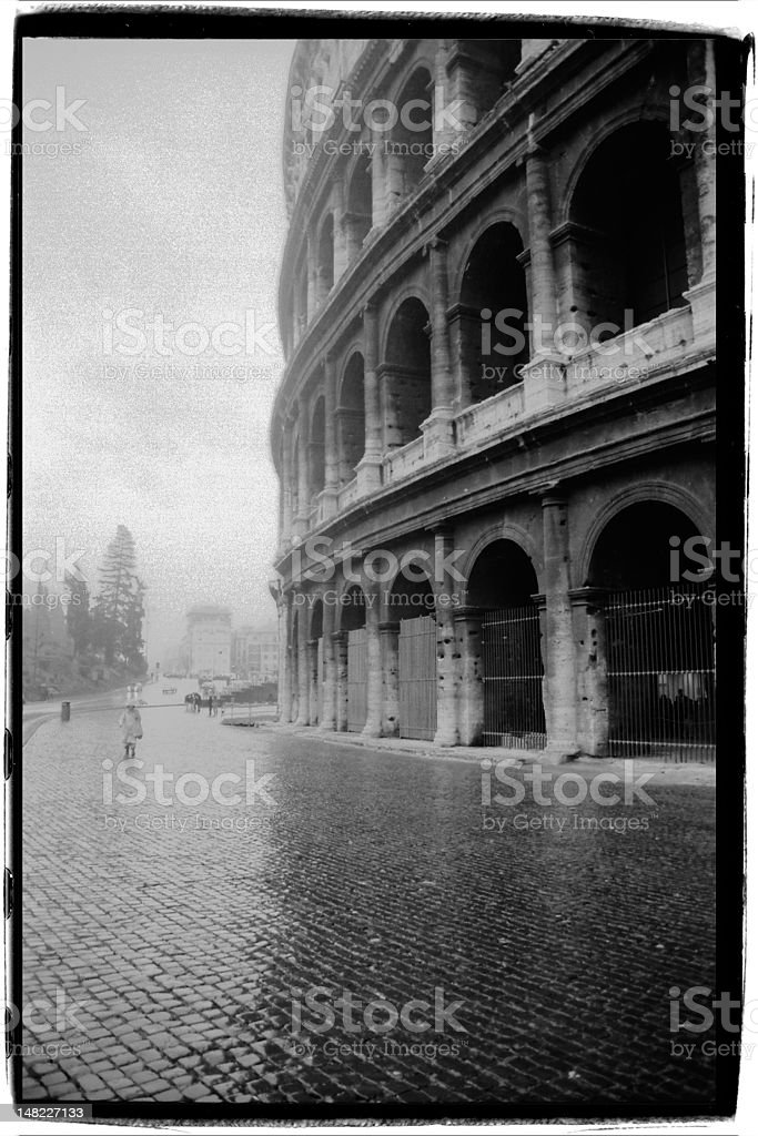 Coliseum Rome Italy royalty-free stock photo