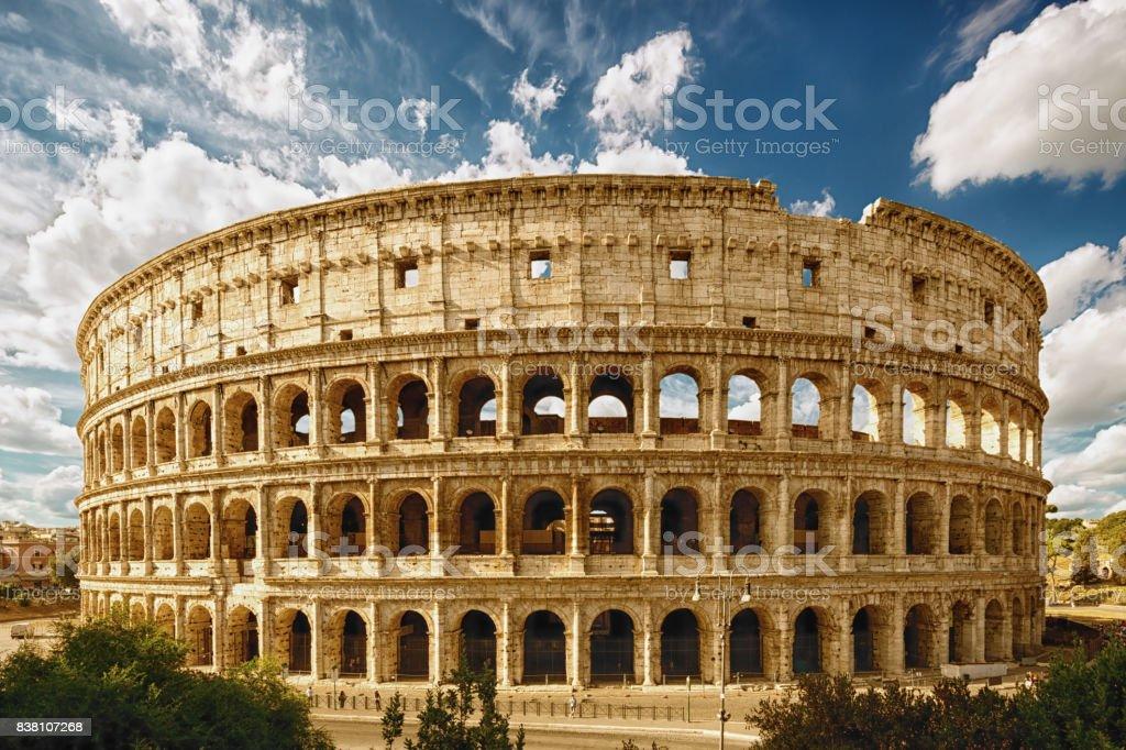 Coliseum, Rome, Italy. stock photo