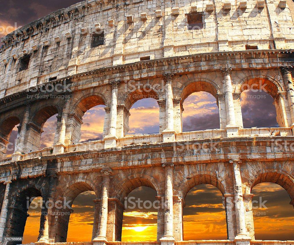 Coliseum, Rome royalty-free stock photo