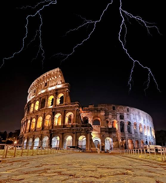 Coliseum, Rome. stock photo