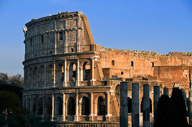 Coliseum Rome stock photo