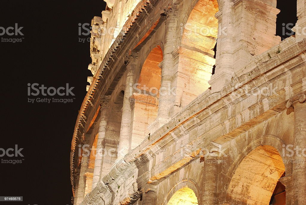 Coliseum rome royalty-free stock photo