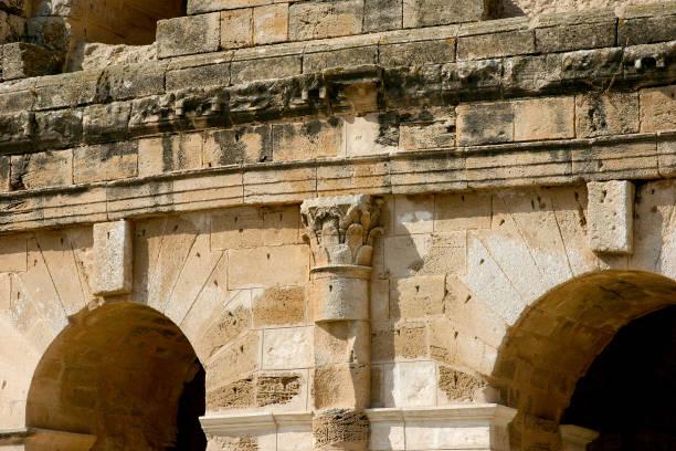 coliseum tunisia - colosseo 1900 foto e immagini stock