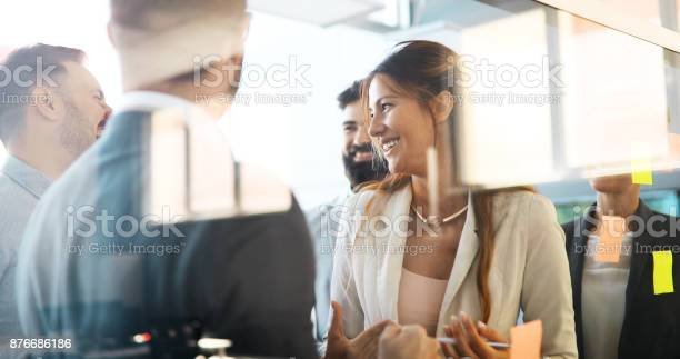 Collaboration and analysis by business people working in office picture id876686186?b=1&k=6&m=876686186&s=612x612&h=3s57bhf gxxa1hjp0grzht wsqvuu1hzjity5b ly98=