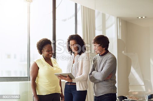603310486istockphoto Collaboration is the secret to their success 500225580