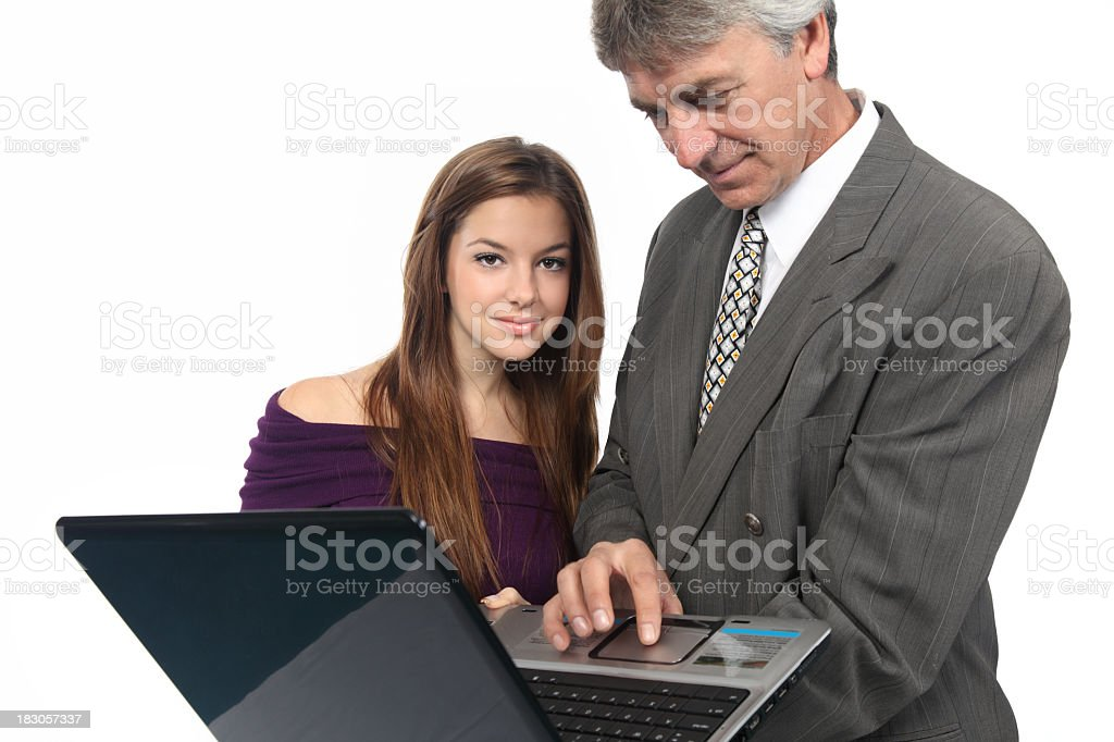 Collaboration royalty-free stock photo