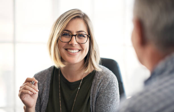 A collaborative work culture is key to company growth stock photo