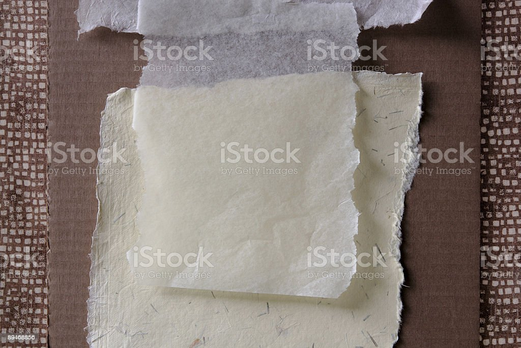 collage background in brown and other neutrals royalty-free stock photo
