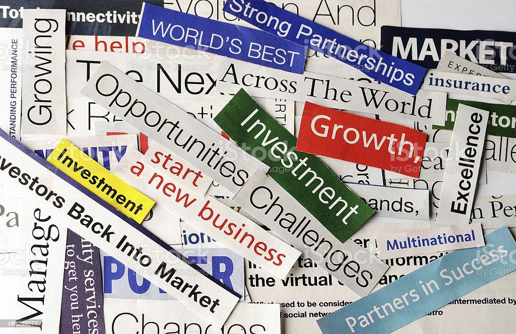 Collage De Economía Foto De Stock Y Más Banco De Imágenes De