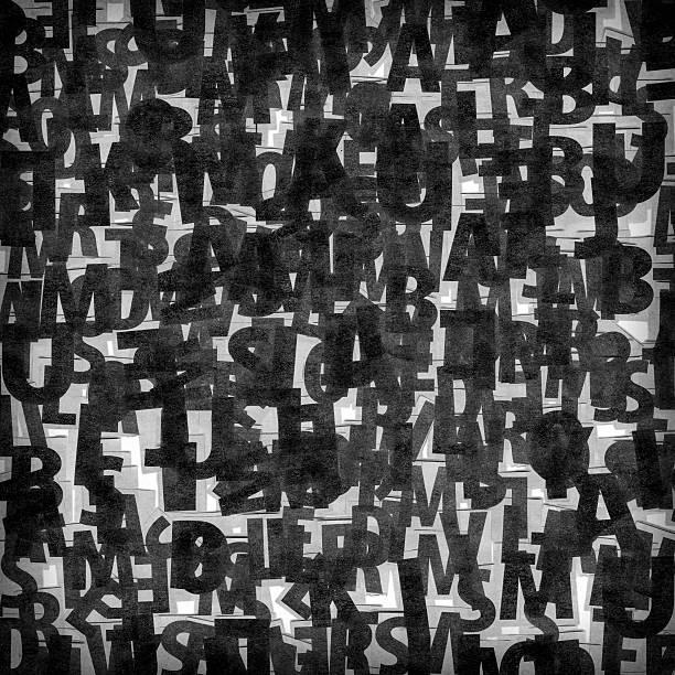 collage von schwarz magazine clippings - kollagenblätter stock-fotos und bilder