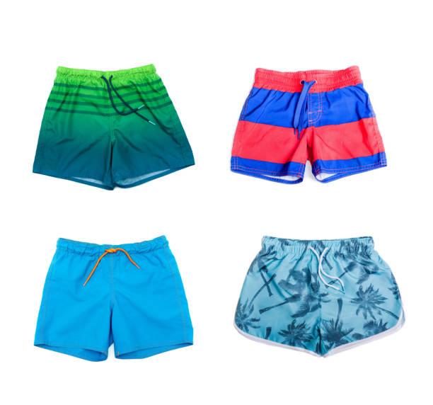 Collage aus verschiedenen Shorts für jungen – Foto