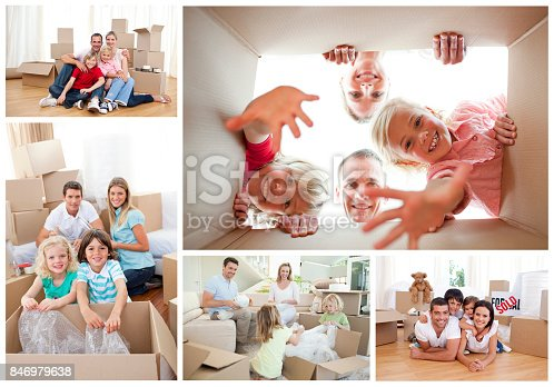 istock Collage of families 846979638
