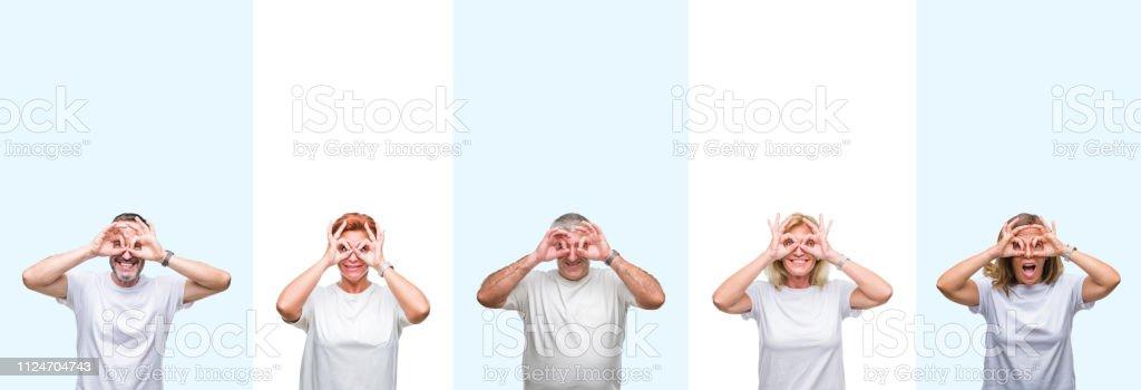 erwachsenen gruppe mann slip tragen