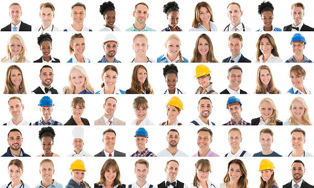 Collage Of People With Different Profession - Photo