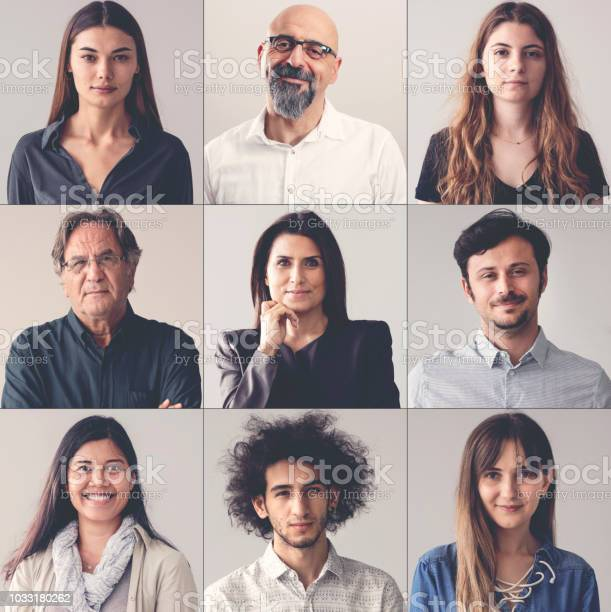 Collage of portraits smiling men and women picture id1033180262?b=1&k=6&m=1033180262&s=612x612&h=mob1fbgk9ccacuzgqit6ugqmbozwjq8hud6i7sb xwo=