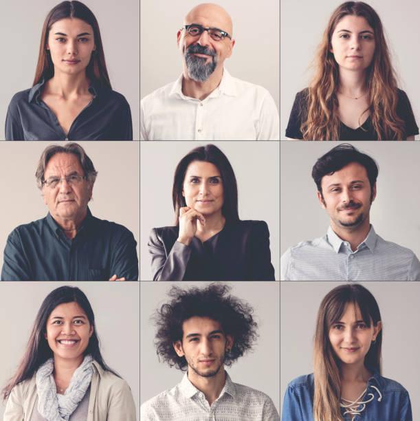Collage of portraits smiling men and women picture id1033180262?b=1&k=6&m=1033180262&s=612x612&w=0&h=5idnysgvqpiguuq5qzvb099jaz499 wwuyz5pqtxprk=