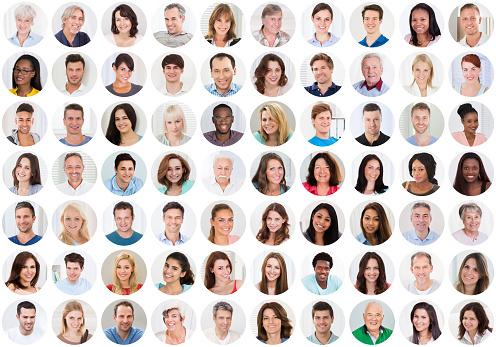 İnsanlar Gülümsüyor Kolaj Stok Fotoğraflar & Adamlar'nin Daha Fazla Resimleri
