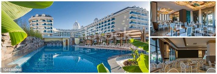 Collage of summer resort