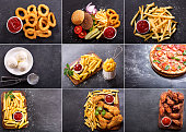 istock collage of various fast food products 908663870