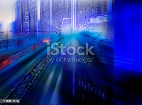 istock collage speed highway and railways in communication supercomputer 625959576