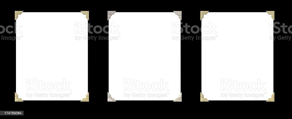 Collage template stock photo