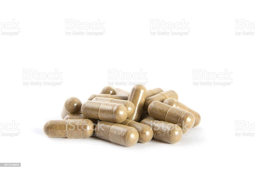 Collagen Boost Supplement stock photo