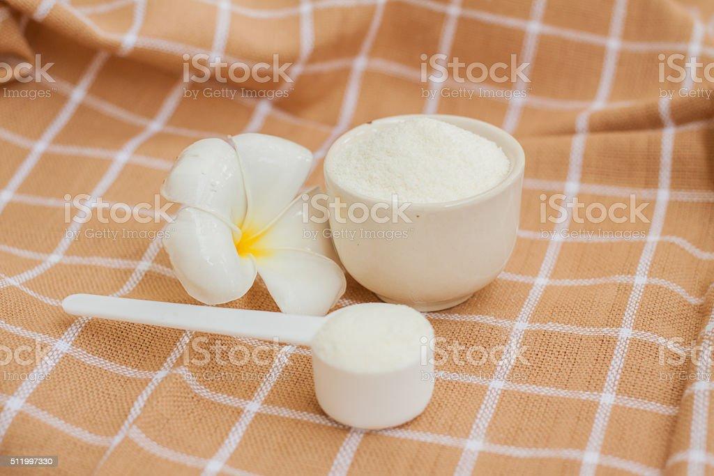 Collagen Protein Powder stock photo