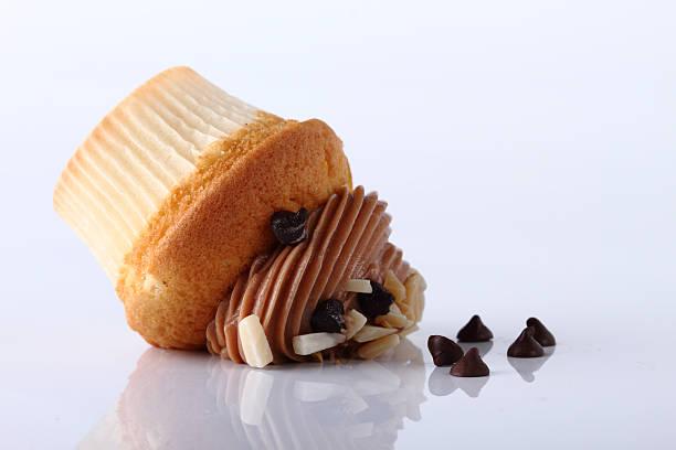 Eingeklappt cupcake – Foto