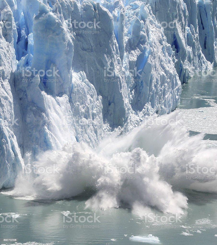 Collapsing Stack Splashing royalty-free stock photo