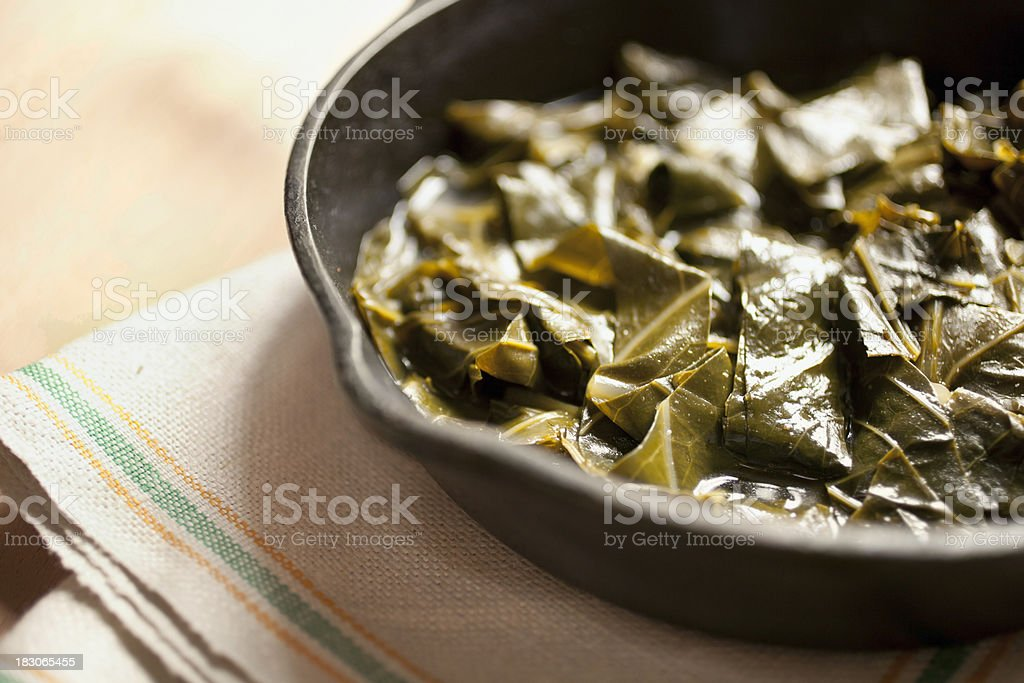 collard greens royalty-free stock photo