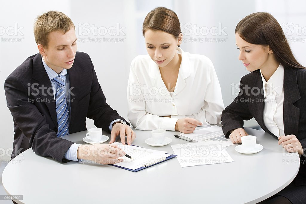 Colleague royalty-free stock photo