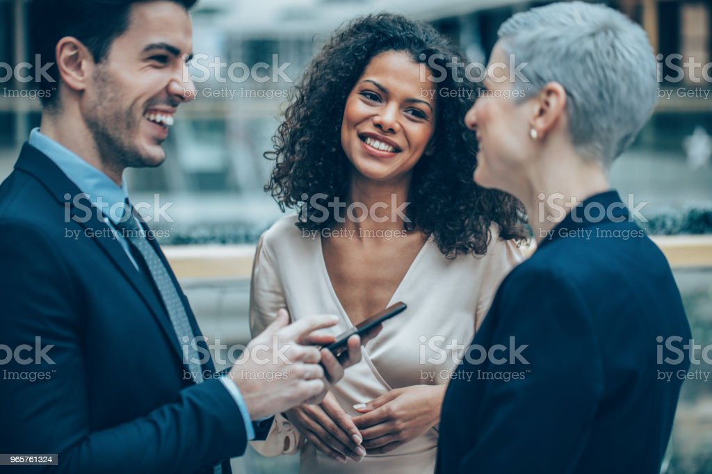 Colleagues and friends - Royalty-free 30-39 Anos Foto de stock