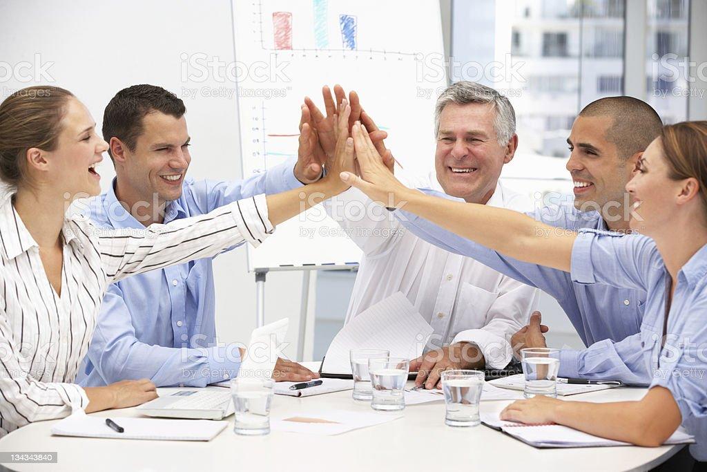 Kollegen im business-meeting Lizenzfreies stock-foto