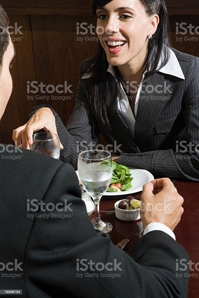 동료 레스토랑 royalty-free 스톡 사진