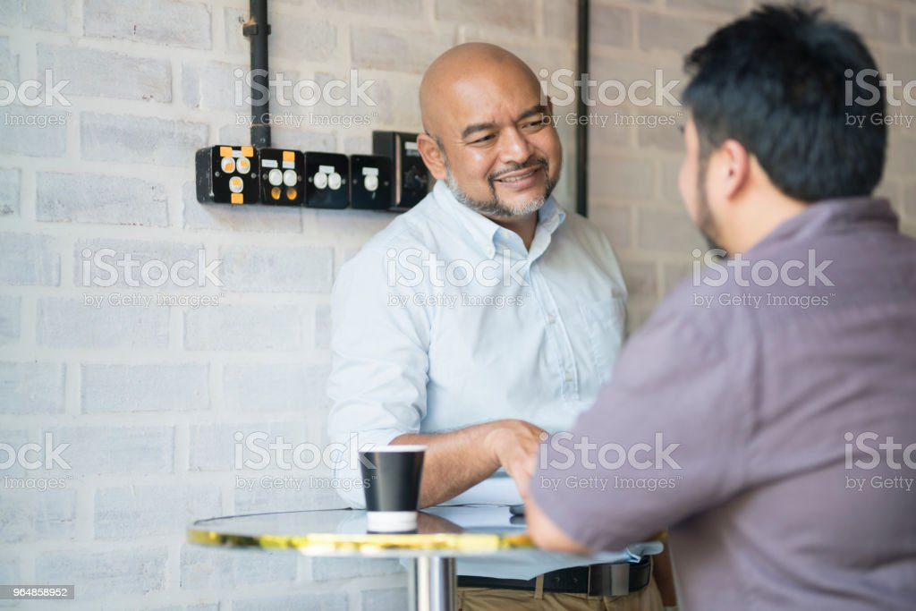 Colleagues On A Break royalty-free stock photo