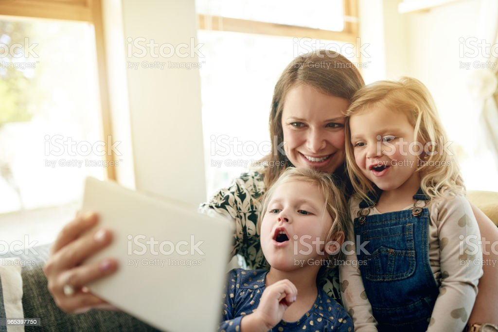 Collect happy family moments royalty-free stock photo