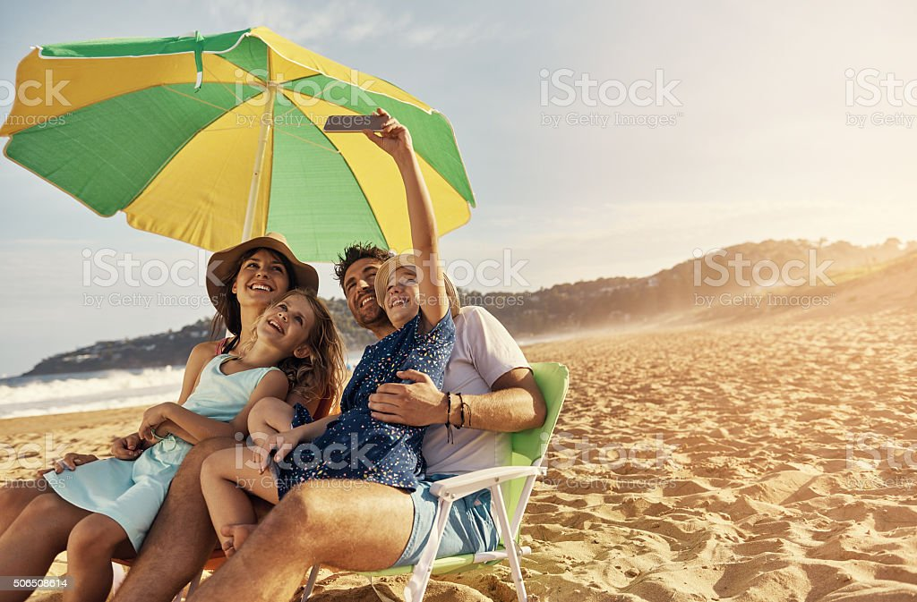 Collect memories not things stock photo