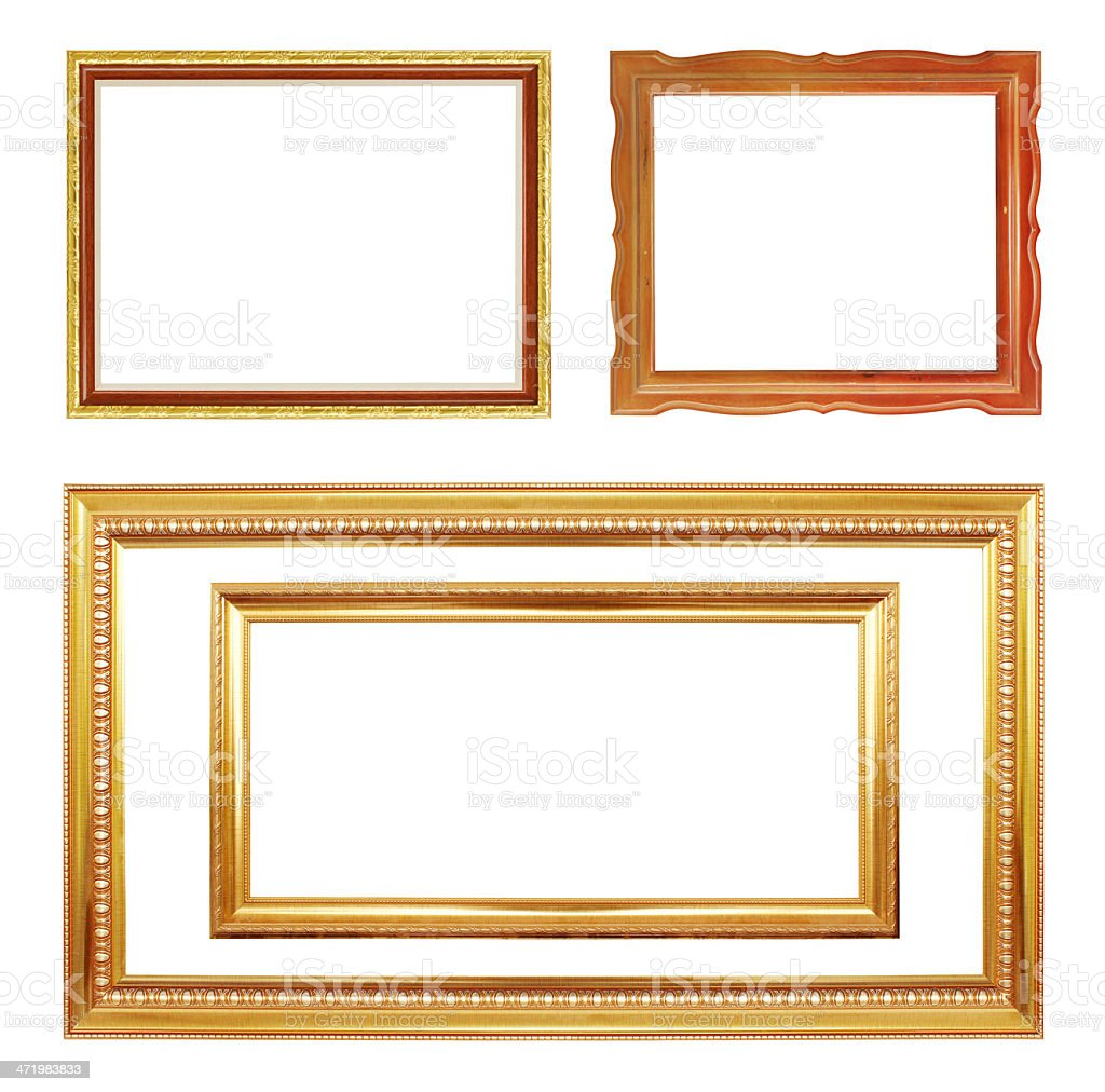 Collection frame. stock photo