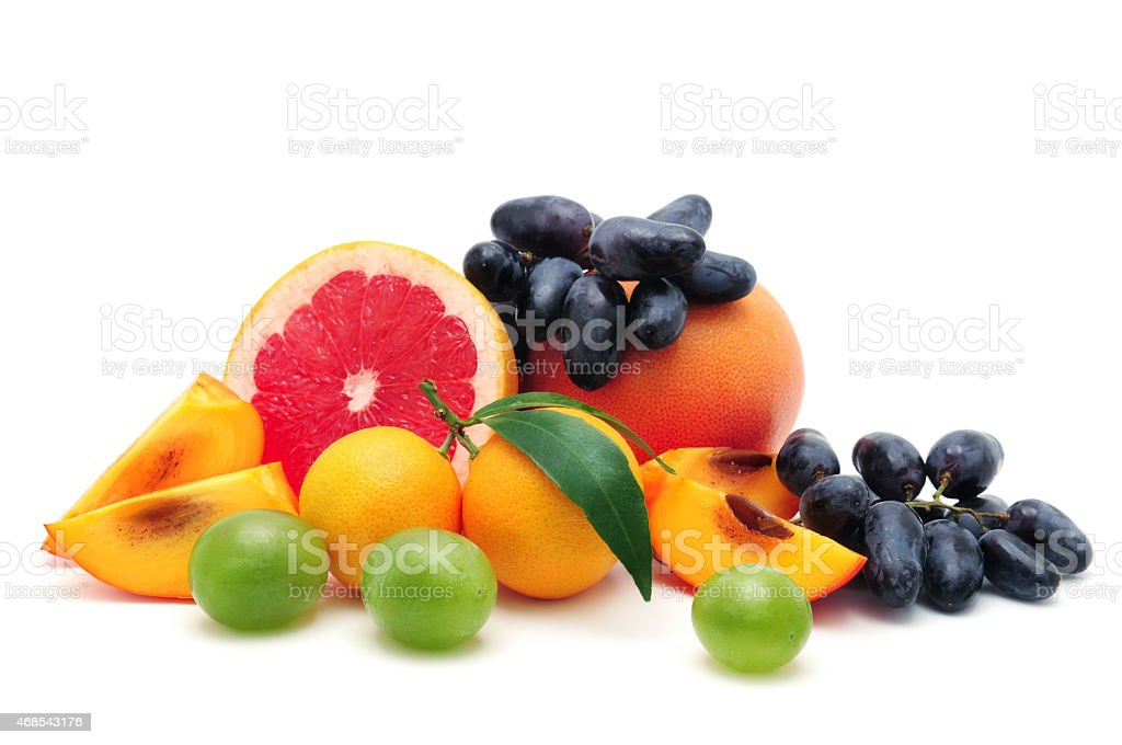 collection fruit stock photo