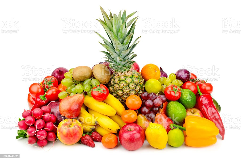 collection juicy fruits and vegetables stock photo more pictures