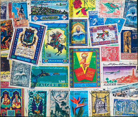 collection of 1997 old Algeria stamp