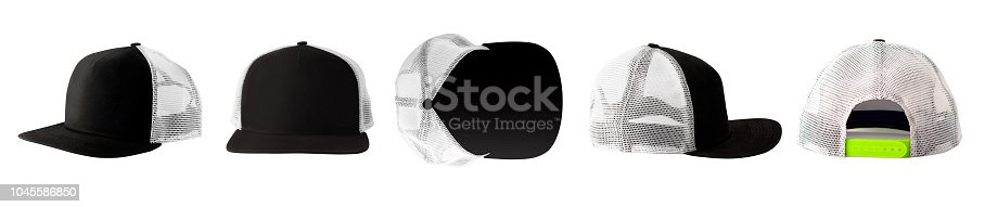 istock Collection of baseball caps 1045586850