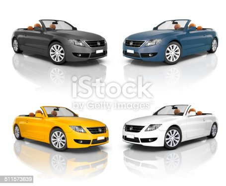 483959606 istock photo Collection of Beautiful Modern Cars 511573639