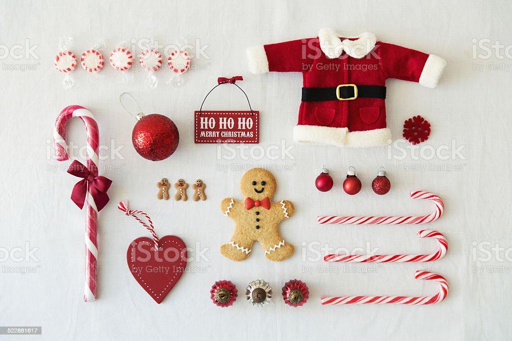 Oggetti Di Natale.Raccolta Di Oggetti Di Natale Fotografie Stock E Altre