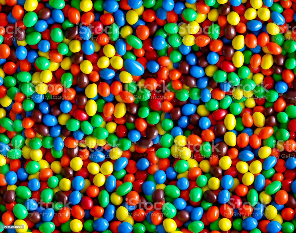 Collection of colorful candy stock photo