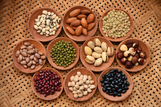 collection of different legumes – zdjęcie